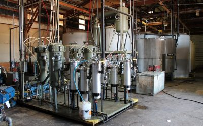ONLINE ONLY EQUIPMENT AUCTION Batch-Process B100 Biodiesel Equipment Bonners Ferry, ID