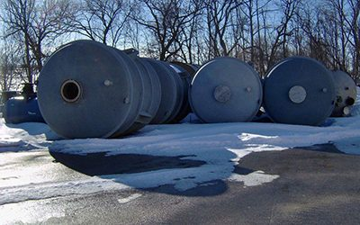 ORDERLY NEGOTIATED SALE Molecular Sieve Tanks