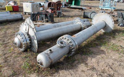ORDERLY NEGOTIATED SALEStainless Steel Catalyst Vessels