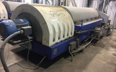 ORDERLY NEGOTIATED SALEAlfa Laval Decanter Centrifuges