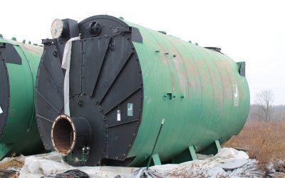 ORDERLY NEGOTIATED SALE:2 NEW Johnston Boiler Company Steam Boilers