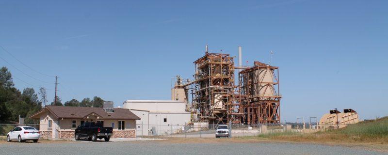 SEALED BID AUCTION:<br>July 19, 2018<br>18 Megawatt Biomass Power Plant<br>Ione, CA