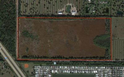 REAL ESTATE AUCTION:January 8, 2019Former INEOS-New Planet Biorefinery   75.41± Acres of Bare LandVero Beach, FL
