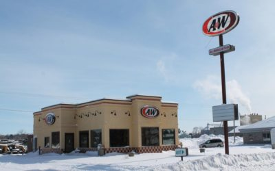 LENDER OWNED AUCTION:May 7, 2019Former A & W RestaurantPine Island, MN