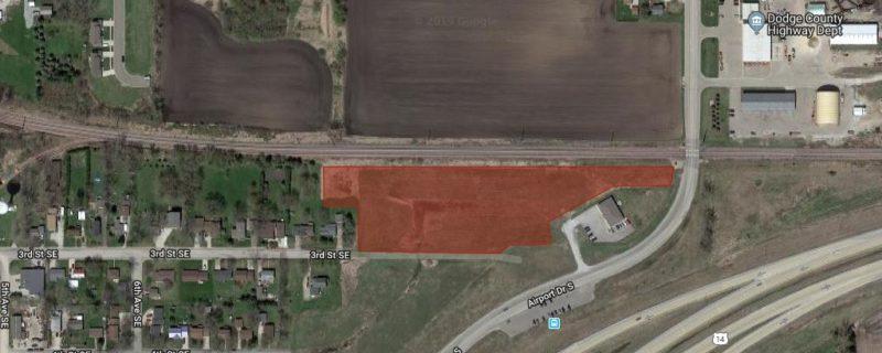 LENDER OWNED AUCTION:<br>Platted Development Land<br>Dodge Center, MN