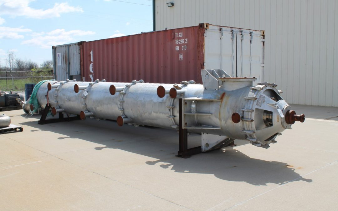 ORDERLY NEGOTIATED SALE: LUWA Thin Film Evaporator and SHOCKWAVE Power Reactor