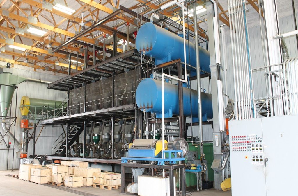 ONLINE ONLY AUCTION:2.45 Million Bushel/Year Oilseed Crushing Facility Equipment PackageCumberland, WI
