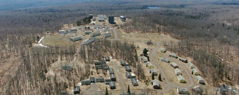 REAL ESTATE AUCTION:<br>Former Cold War Missile Defense Radar Base on 105± Acres<br>Mohawk, MI