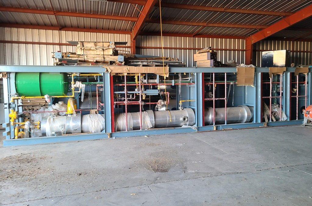 ONLINE ONLY AUCTION: 5 MMGY Biodiesel Plant & Oilseed Soybean/Hemp Cleaning EquipmentSALE EXTENDED!!!Arapahoe & Lexington, NE